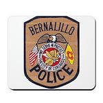 Bernalillo New Mexico Police Mousepad