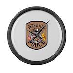 Bernalillo New Mexico Police Large Wall Clock