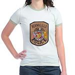 Bernalillo New Mexico Police Jr. Ringer T-Shirt