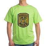 Bernalillo New Mexico Police Green T-Shirt