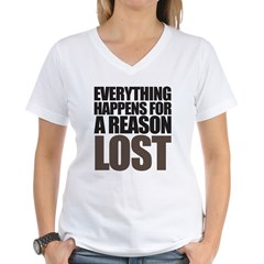 Reason Women's V-Neck T-Shirt
