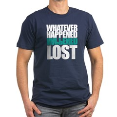 Whatever Happened Men's Fitted T-Shirt (dark)
