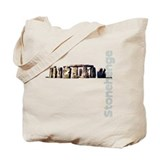 Stonehenge Vertical Tote Bag