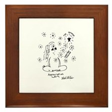 Cute Law attraction Framed Tile