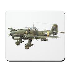JU-87 Stuka Bomber Mousepad
