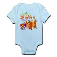 You Had Me At Hello Infant Bodysuit