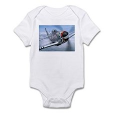 P-51 Mustang Coming at You Infant Creeper