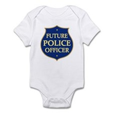 Cute Future Police Officer Infant Bodysuit