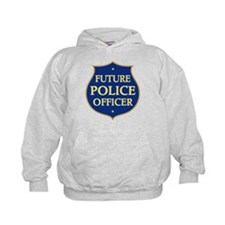 Cute Future Police Officer Hoodie