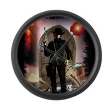 The Dark Tower Large Wall Clock