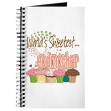World's Sweetest Godmother Journal