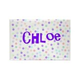 Chloe Flower Power Rectangle Magnet