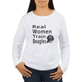 Real Women Train Beagles T-Shirt