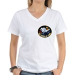 Wrath Of Khan Women's V-Neck T-Shirt
