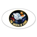 Wrath Of Khan Sticker (Oval 10 pk)