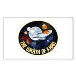 Wrath Of Khan Sticker (Rectangle 10 pk)