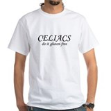 CELIACS do it gluten-free Shirt
