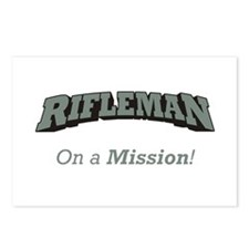 Rifleman - On a Mission Postcards (Package of 8)
