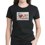 Only Love Prevails Women's Dark T-Shirt