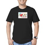 Only Love Prevails Men's Fitted T-Shirt (dark)