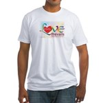 Only Love Prevails Fitted T-Shirt