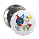 "Outta This World 4th 2.25"" Button"