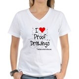 I Love Proof Drawings Shirt