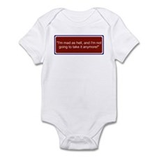 Cute Rally to restore sanity Infant Bodysuit