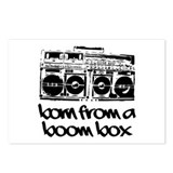 Born From A Boom Box Postcards (Package of 8)