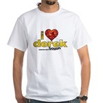 I Heart Derek Hough White T-Shirt