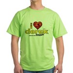 I Heart Derek Hough Green T-Shirt