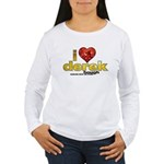 I Heart Derek Hough Women's Long Sleeve T-Shirt