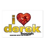 I Heart Derek Hough Postcards (Package of 8)