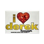 I Heart Derek Hough Rectangle Magnet