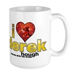 I Heart Derek Hough Large Mug