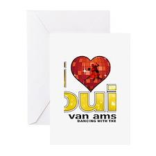 I Heart Louis van Amstel Greeting Cards (20 pack)