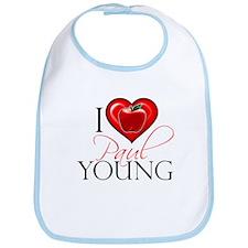 I Heart Paul Young Bib