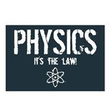 Physics - It's the Law! Postcards (Package of 8)