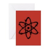 Nucular Atomics IV Greeting Cards (Pk of 10)