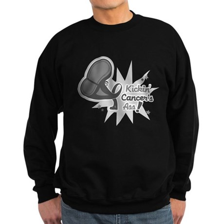 Kickin BrainCancer's Ass Sweatshirt (dark)
