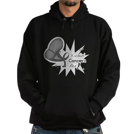Kickin BrainCancer's Ass Hoodie (dark)
