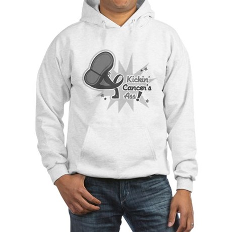 Kickin BrainCancer's Ass Hooded Sweatshirt