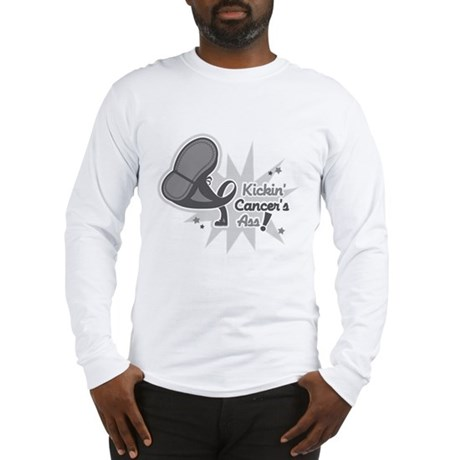 Kickin BrainCancer's Ass Long Sleeve T-Shirt
