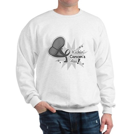 Kickin BrainCancer's Ass Sweatshirt