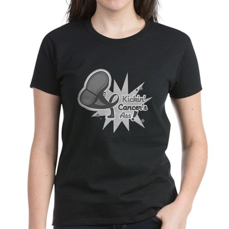 Kickin BrainCancer's Ass Women's Dark T-Shirt