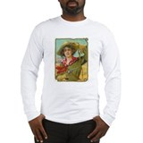 Cool Vintage Cowgirl Long Sleeve T-Shirt