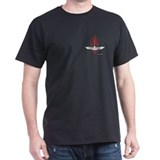 T Bird Emblem Pinstripes T-Shirt