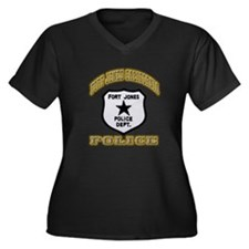 Fort Jones California Police Women's Plus Size V-N