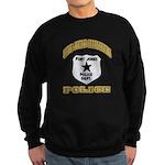 Fort Jones California Police Sweatshirt (dark)