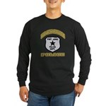 Fort Jones California Police Long Sleeve Dark T-Sh